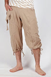 Mens Yoga Britches - XS, L - army  or black