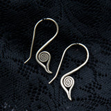 tribal motif silver jewellery