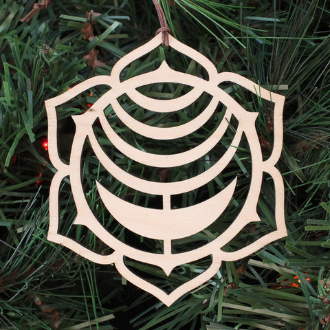 Sacral Chakra Holiday Ornament