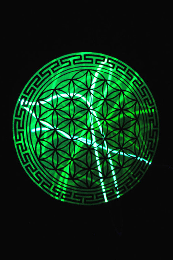 Light Warrior Flower of Life T-shirt - UV Reactive
