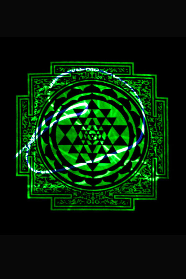 UV Reactive - Light Warrior Sri Yantra T-shirt