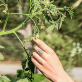 Seed Of Life Ring | Sterling Silver | TRIBE Jewelry