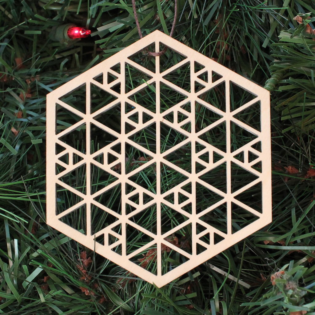 Sierpinski Hexagon Ornament