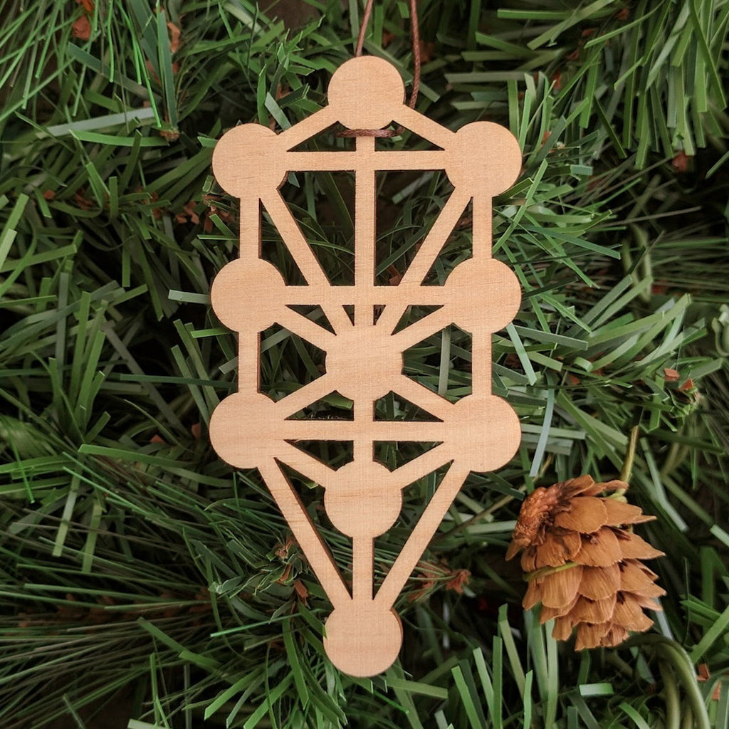 Tree of Life Holiday Ornament
