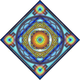 Sri Yantra Clouds Bandana - sublimation print