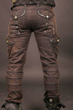 Chiseled Pants - brown washed