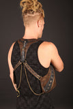 mens leather festival pocket holsters by anahata designs