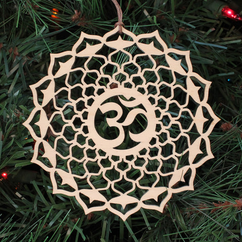 Crown Chakra Holiday Ornament
