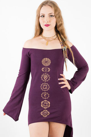 Chakra Printed Boho Dress - 6 colors