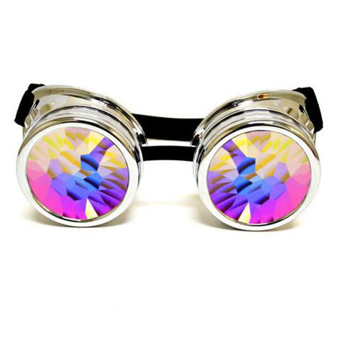Kaleidoscope Goggles - Chrome
