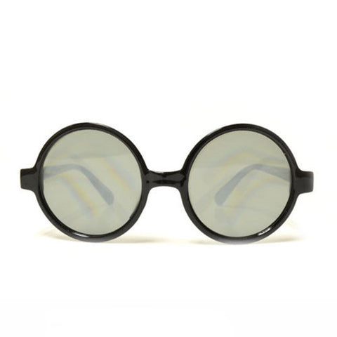 Round Tinted Diffraction Glasses
