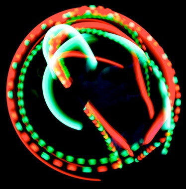 X.LED Simple Rave Gloves -The Hunt