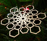 Hexagon Star Fractal Ornament