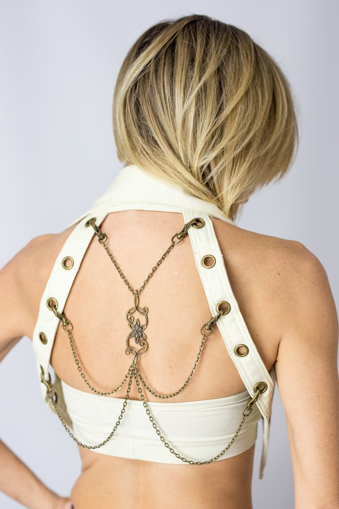 Nexus Vest - Canvas with Chain