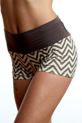 Chevron Booty Short