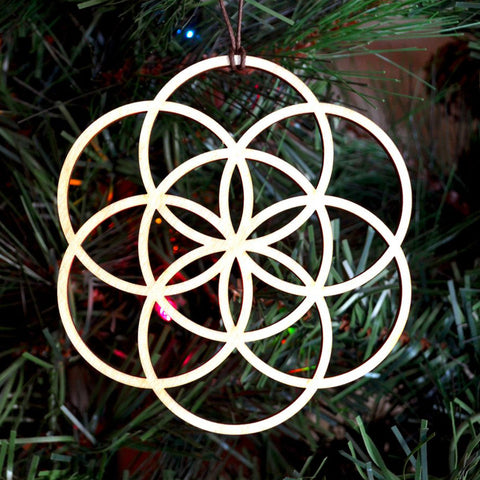 Seed of Life Holiday Ornament