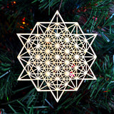 Star Tetrahedron Ornament - 64 Sided