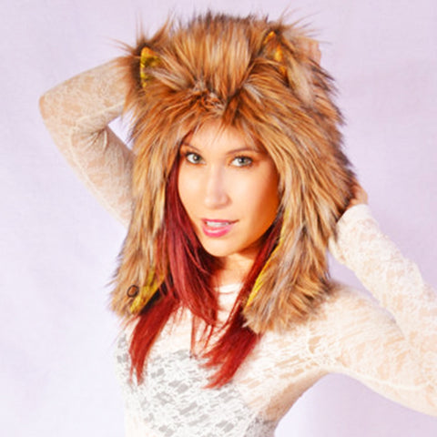 Coyote Hat, Faux Fur