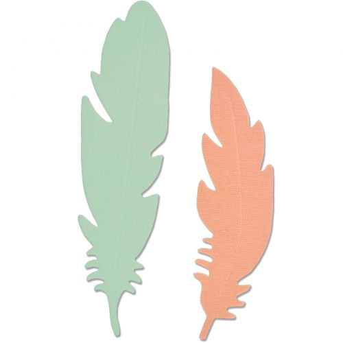 Fustella Bigz Piuma Sizzix - 661711 Feather Die