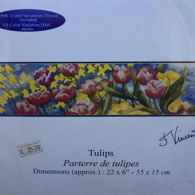 Kit punto croce DECO Tulips  DMC