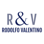 They are the initials for Rodolfo Valentino