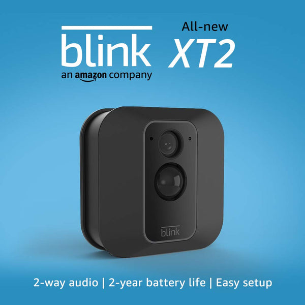 All-new Blink XT2 Outdoor/Indoor Smart Security Camera with cloud storage included