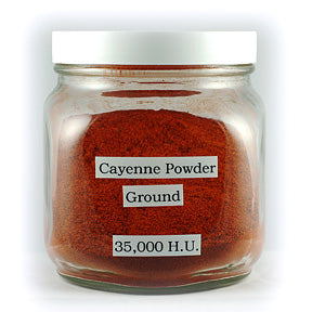Cayenne Pepper, Ground, Cert. Organic