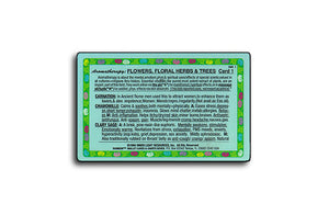 Aromatherapy: Flowers, Floral Herbs & Trees, Wallet Card #1