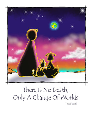 Greeting Card- Change Of Worlds