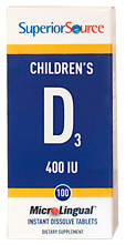Children's D3 400 IU