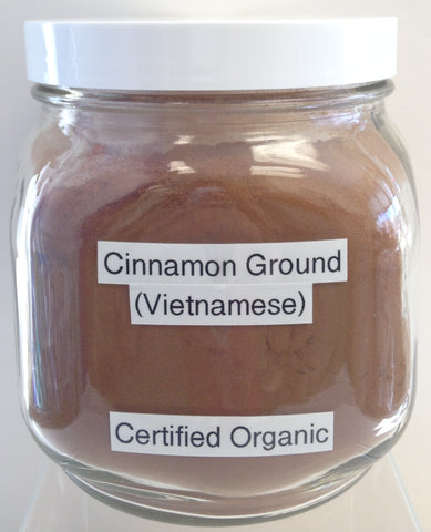 Cinnamon Vietnamese, Ground Cert. Organic