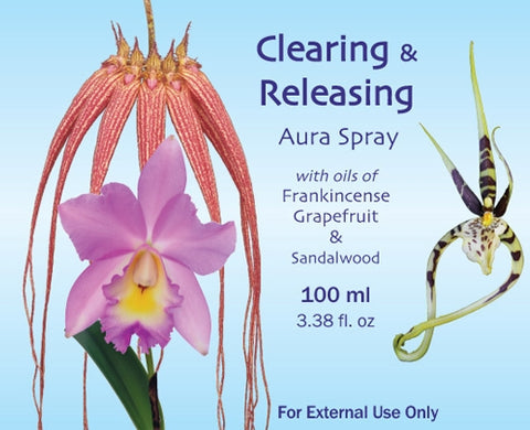 Clearing & Releasing Aura Spray