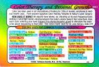 Color Therapy and Personal Growth Wallet Card