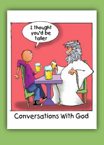 Greeting Card- Taller (Conversations with God)
