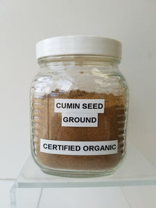 Cumin Seed, Ground Cert. Organic