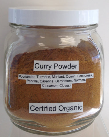 Curry Powder Seasoning Blend Cert. Organic