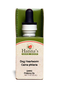 Dog Heartworm, Caina philaria (para), Vibropathic™