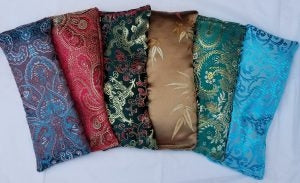 Eye Pillow- Red Paisley