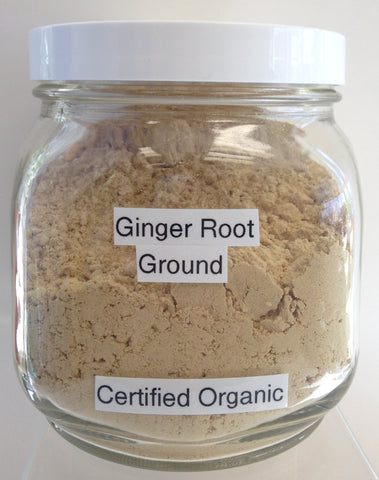 Ginger Root, Ground Cert. Organic