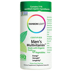 Certified Organics Men's Multivitamin