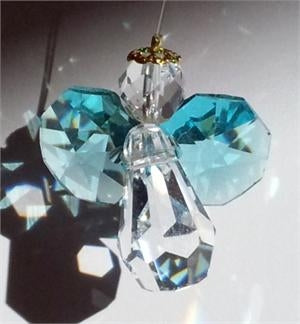 Crystal- Mini Angel, Aqua