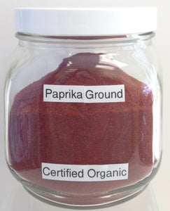Paprika, Ground Cert. Organic