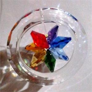 Crystal- Chakra Flower Ring