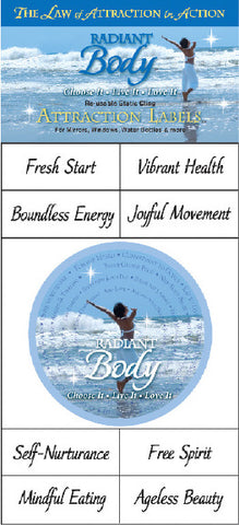 Attraction Labels, Radiant Body
