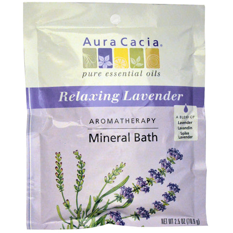 Relaxing Lavender Mineral Bath