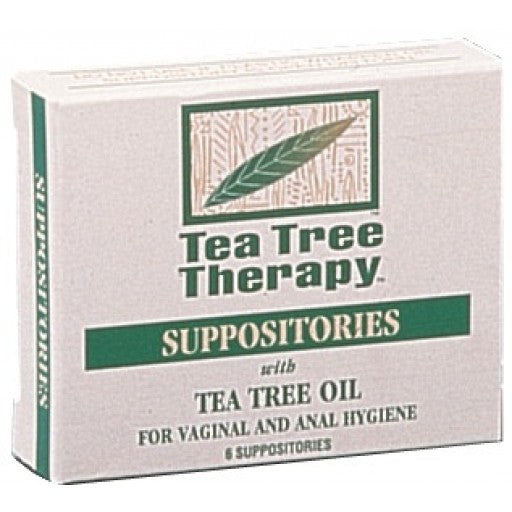 Suppositories with Tea Tree Oil