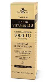 Vitamin D3 5000 IU, Liquid