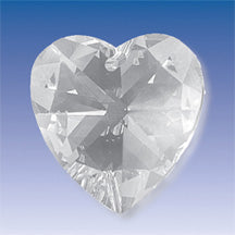 Crystal- Heart, 18 mm