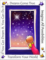Greeting Card- Dreams Come True