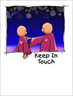 Greeting Card- Keep In Touch